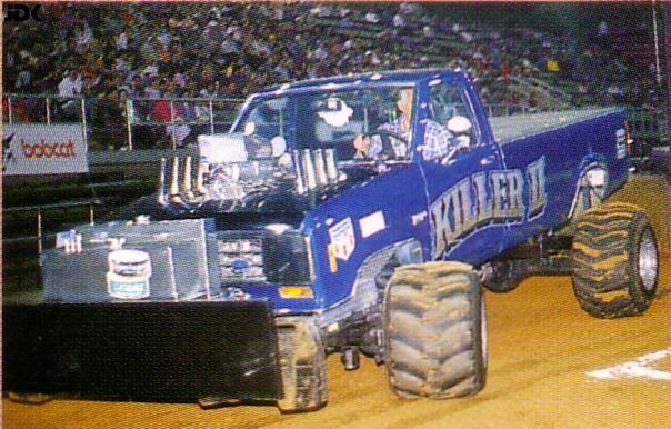 jdk180s monster trucks tractor pulling